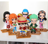 One Piece – Strohhüte Set aus 10 Figuren