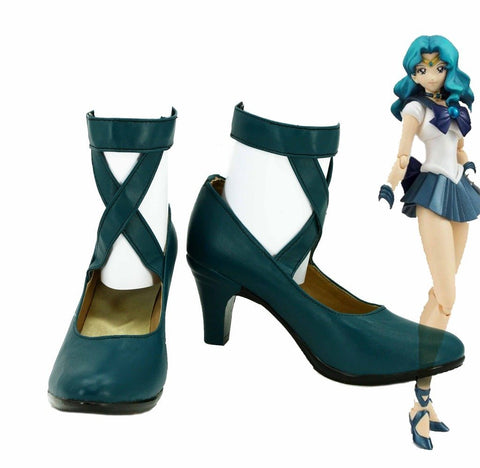 Sailor Moon-Sailor Neptun Schuhe - Cosplayuniverse.de