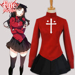 Fate/Stay Night – Rin Tohsaka Uniform Cosplay (Maßanfertigung möglich) - Cosplayuniverse.de