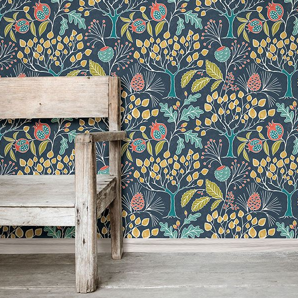 Temporary Transformations: New Peel & Stick Wallpaper
