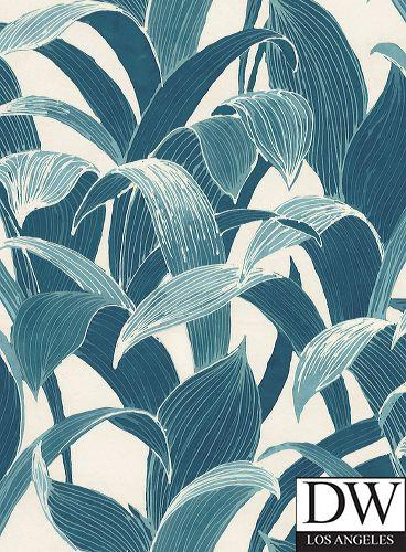 St Tropez Tropical Palm Wallpaper