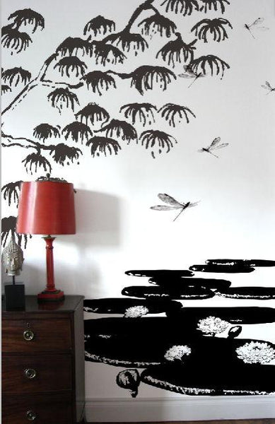 Japanese NighLife Murals Wallpaper Wallcovering