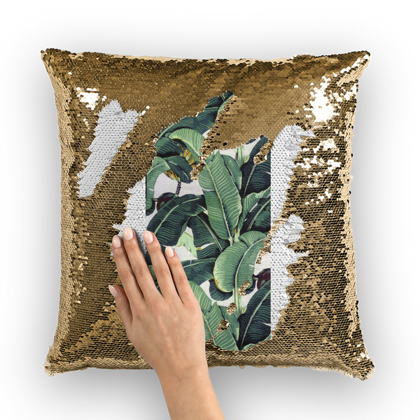 Beverly Hills Sequin Cushion Cover