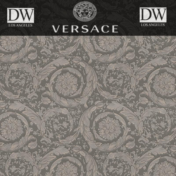 Pisaro Coast Scrolls by Versace Wallpaper