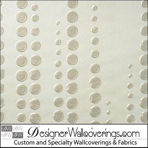 Water Droplets - Master Hand Crafted Wallpaper made in the USA