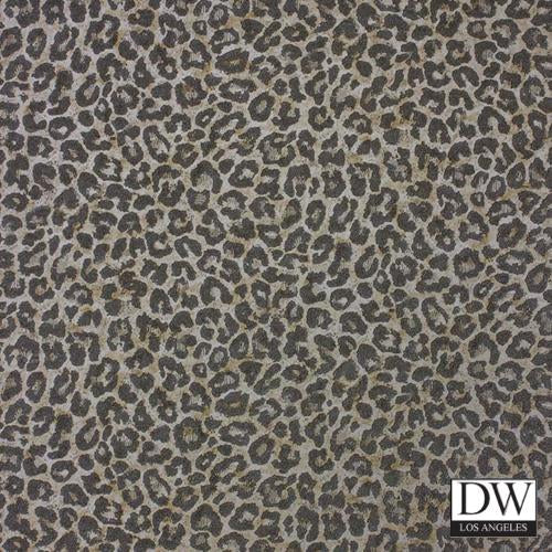 Leepin Leopard Glassbeaded Wallpaper