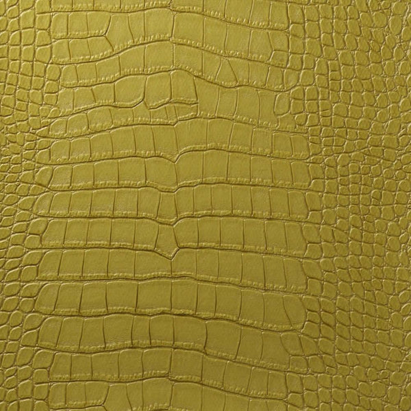 Le Embossed Croc - Green