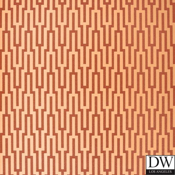 Metropolitan Fret Lattice Wallpaper