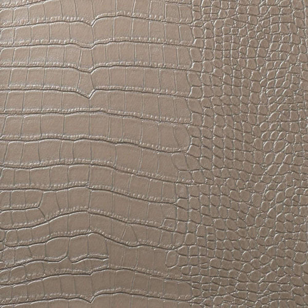 Le Embossed Croc - Taupe Grey Silver