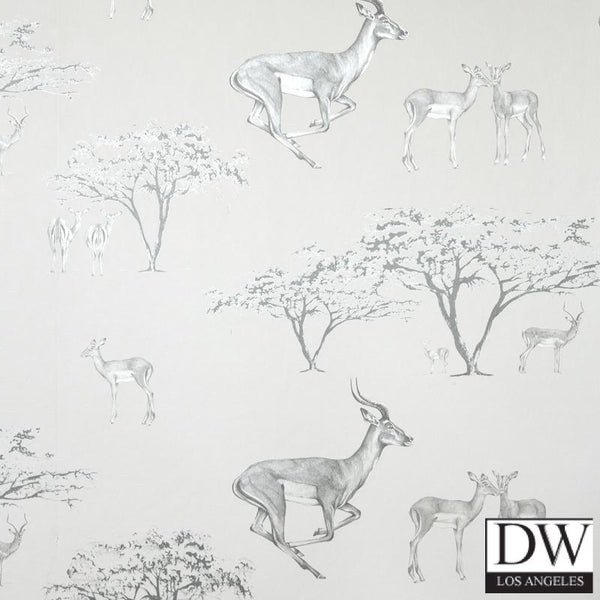 Tribe Tribe Wallpaper - Deers and Trees - 2
