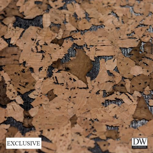 Ehime Natural Cork Wallpaper