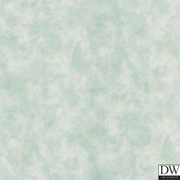 Ruffle Light Green Sponge Paint Effect Wallpaper