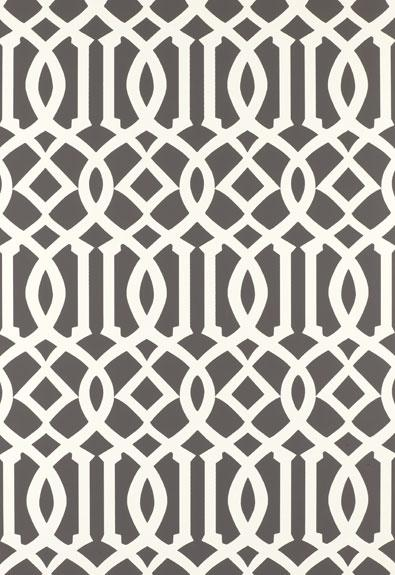Regal Trellis - A Sophisticated Lattice/Trellis Wallpaper Screen