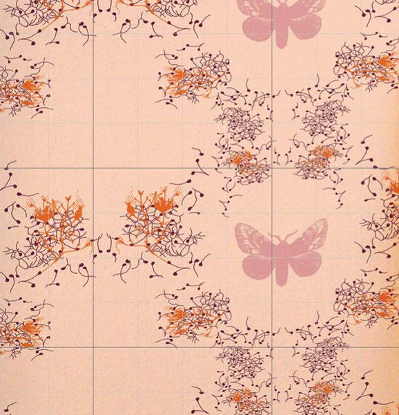 Marlene - Rose Wallpaper Wallcovering