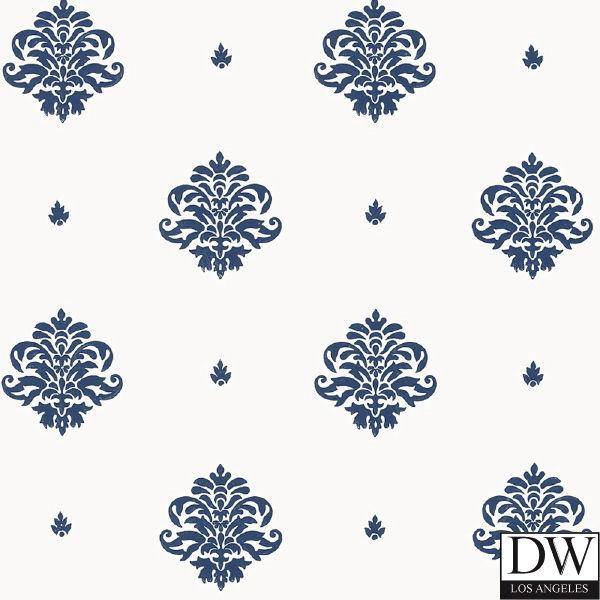 Mayla Damask Wallpaper