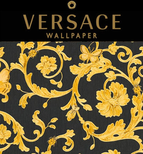 Versace Wallpaper at Designer Wallcoverings