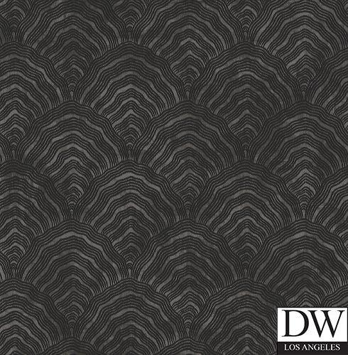 Sado Contemporary Scallop Wallpaper