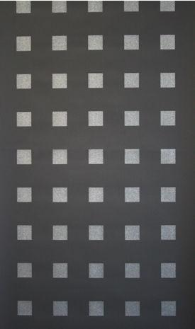 Silver Glitter Square Wallpaper Print