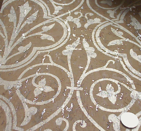 Medici Real Cork Damask Wallpaper