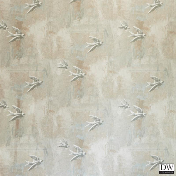 Fresco Bird Wallpaper