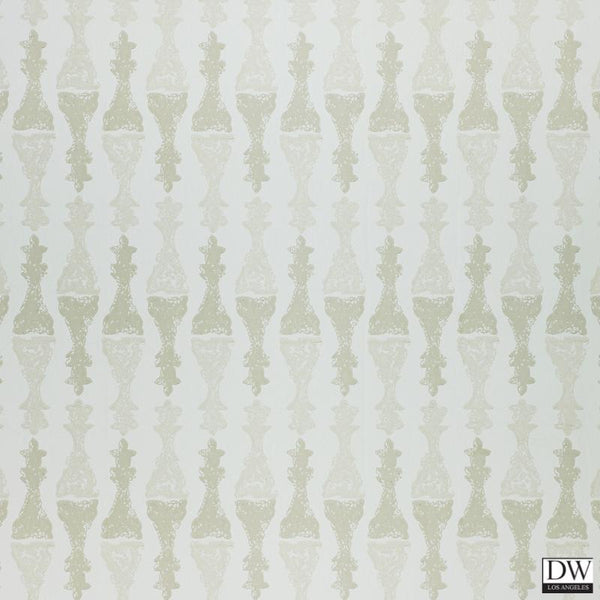 Chess Wallpaper - Stone Cream