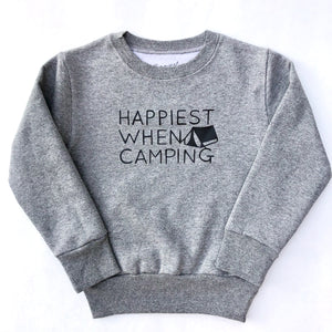 Happiest When Camping - TODDLER/YOUTH