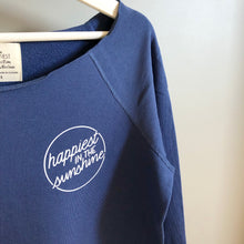 Load image into Gallery viewer, Happiest in the Sunshine - Raw Edge Pullover