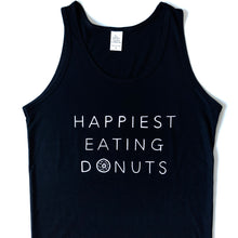 Load image into Gallery viewer, Happiest Eating Donuts - Bamboo + Organic Cotton Tank Top
