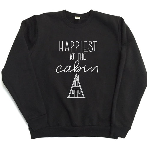 Happiest at the Cabin - TODDLER/YOUTH