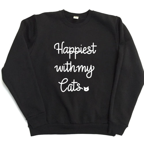 Happiest with my Cats - TODDLER/YOUTH