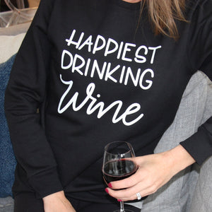 Happiest Drinking Wine