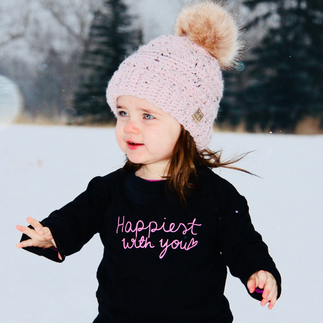 Happiest with you - TODDLER/YOUTH