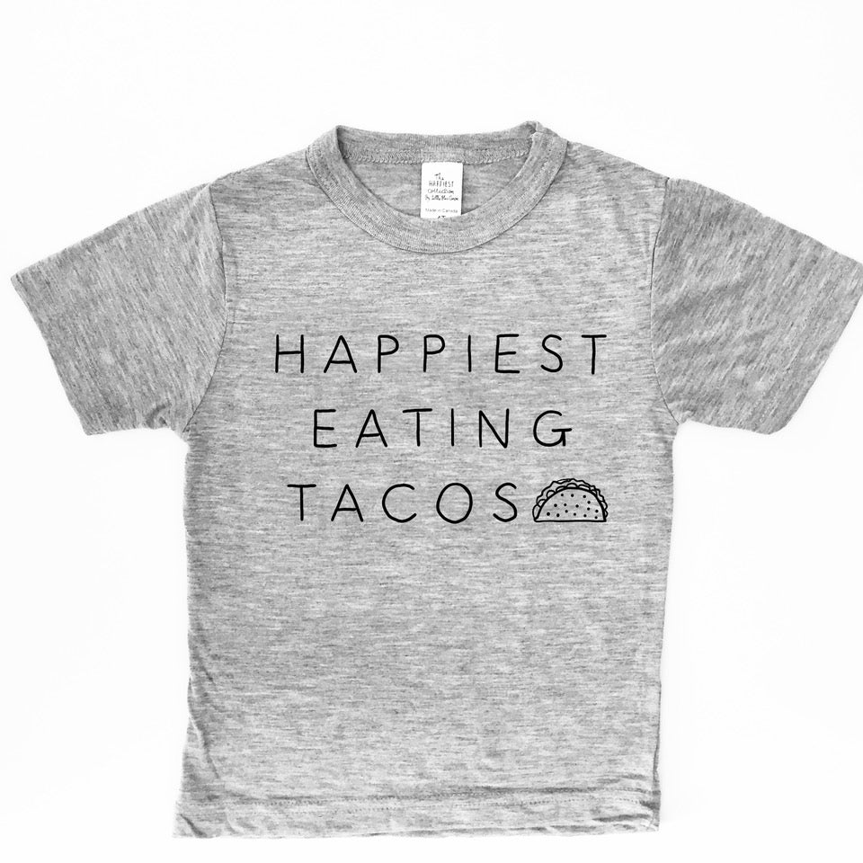 Happiest Eating Tacos - TODDLER/YOUTH