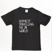 Load image into Gallery viewer, Happiest Travelling the World - TODDLER/YOUTH