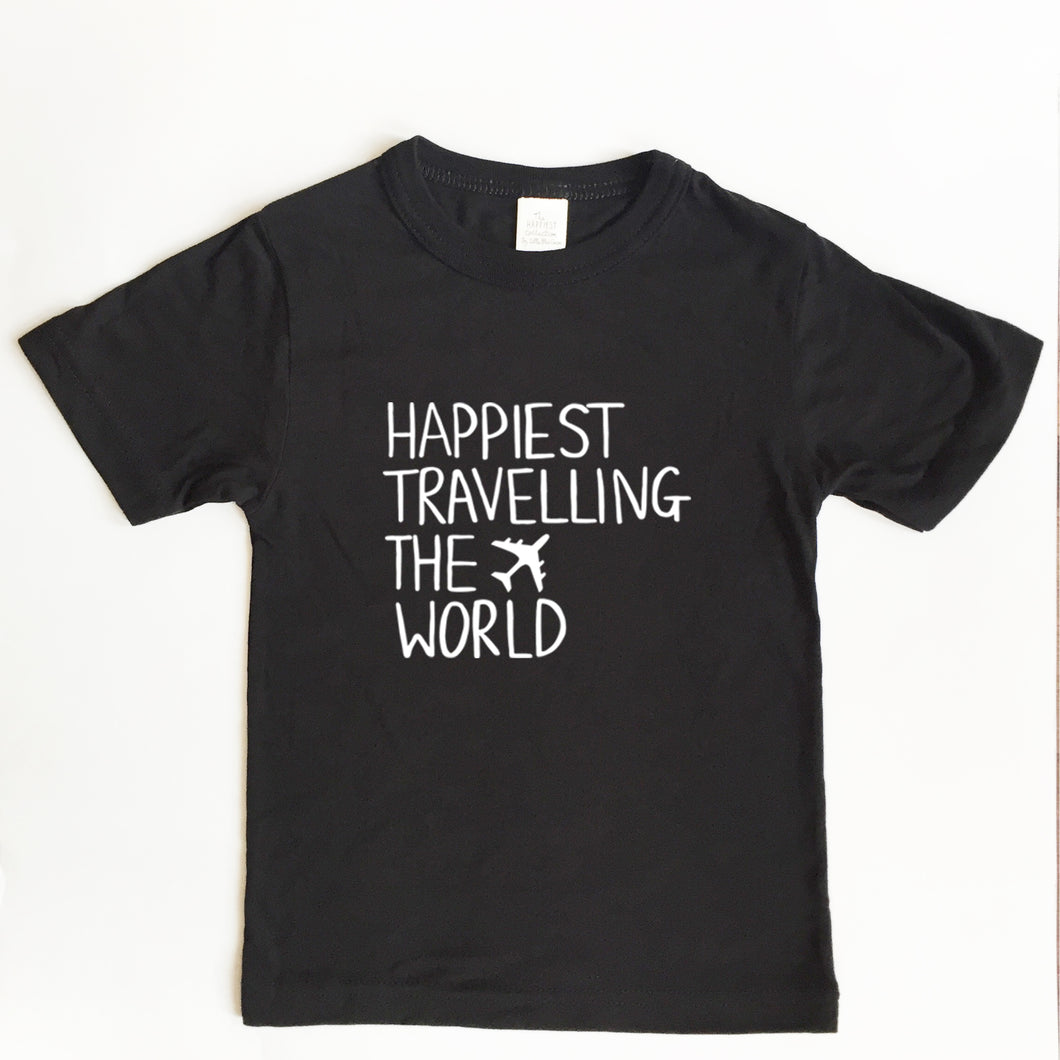Happiest Travelling the World - TODDLER/YOUTH