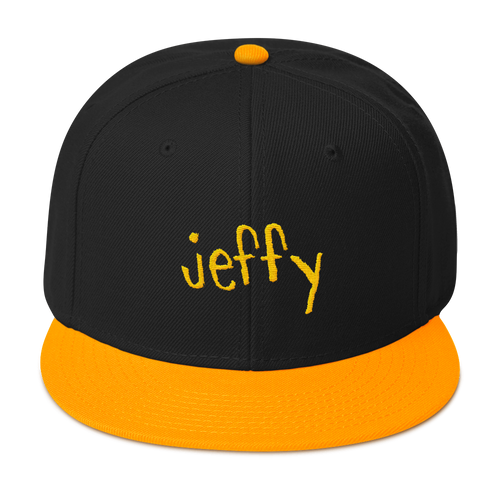 Jeffy Snapback Hat