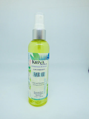 Kriya Botanicals – Low Porosity Hair Oil
