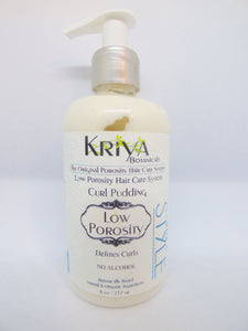 Kriya Botanicals – Low Porosity Curl Pudding