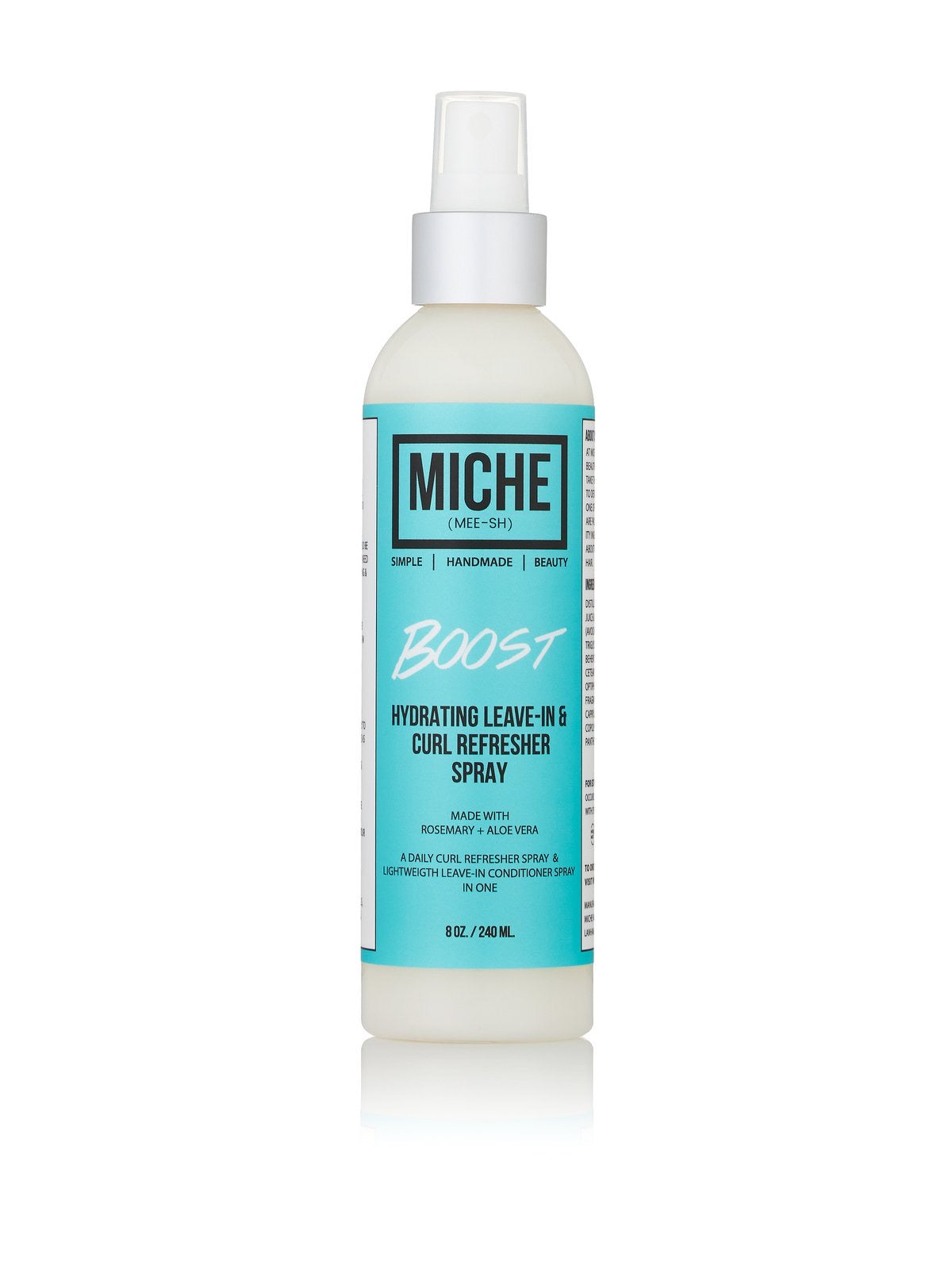 Miche Beauty - Boost Hydrating Curl refresher and Leave in Spray ( 8oz)