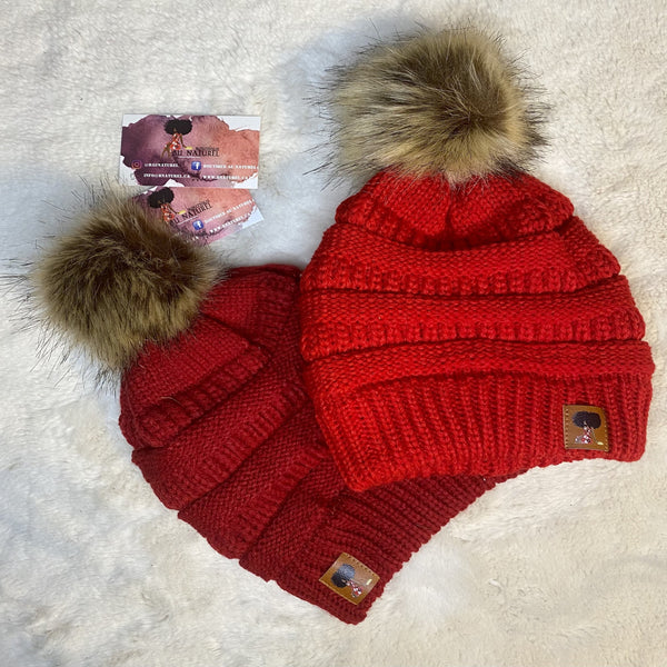 Satin Lined Beanies for Queens (7 colors)