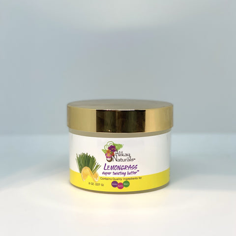 Alikay Naturals - Lemongrass Super Twisting Butter ( 8oz)
