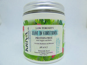 Kriya Botanicals – Low Porosity Leave in Conditioner