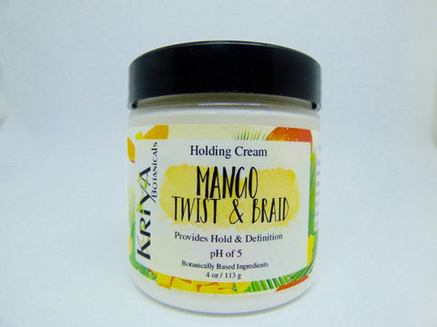Kriya Botanicals – Mango Twist & Braid Holding Cream