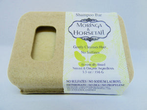 Kriya Botanicals – Moringa and Horsetail Shampoo Bar