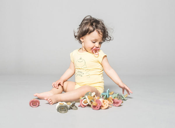 Hevea Pacifier - Colourful, Vegan & Planet friendly