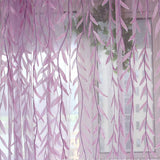 Leaves Tulle Window Curtain