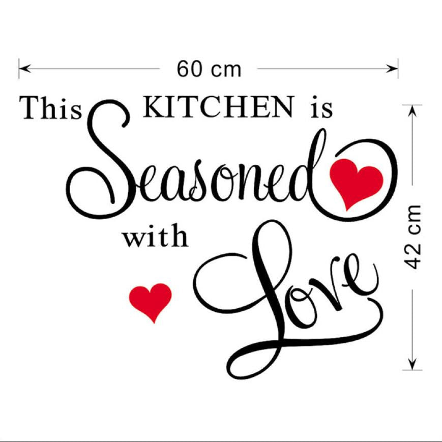 Kitchen Wall Sticker Decor