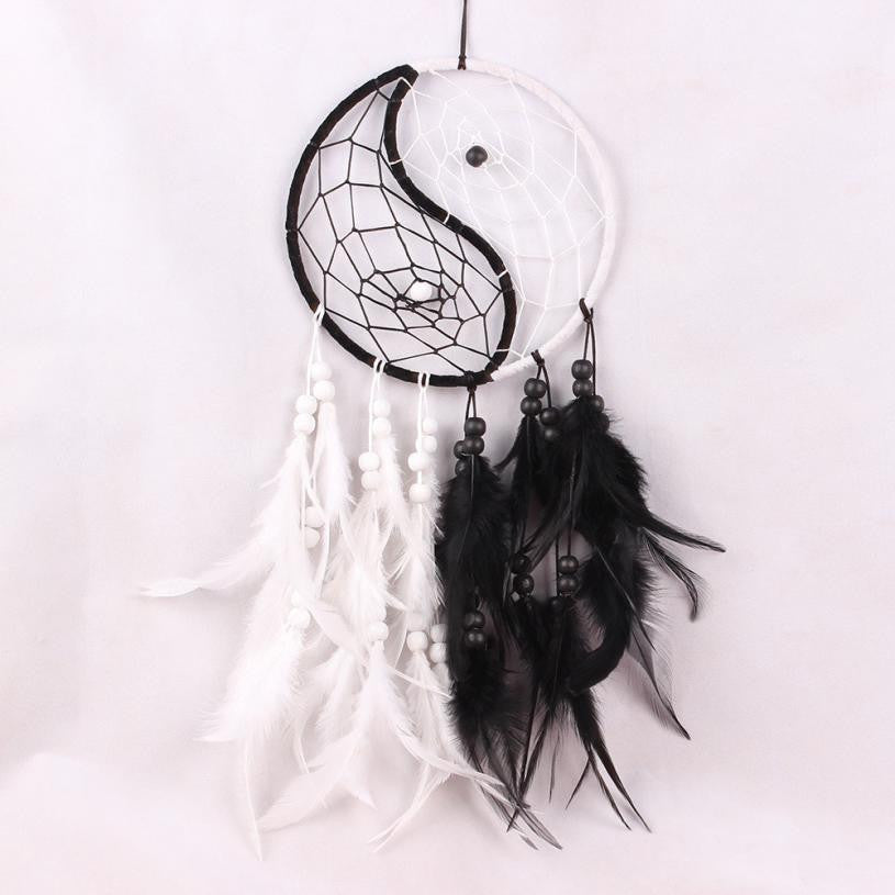 Black & White Dream Catcher