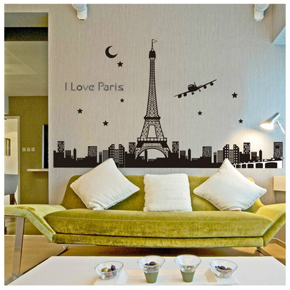 Paris Eiffel Tower Wall Sticker
