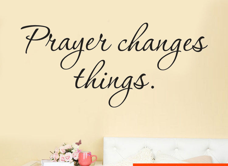 Prayer Changes Things Wall Art
